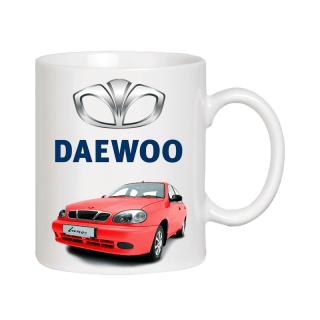 Чашка - подарок Daewoo Lanos