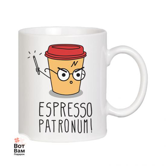 Кружка Espresso Patronum! купить в Харькове