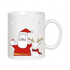 Чашка - подарок на Новый год
