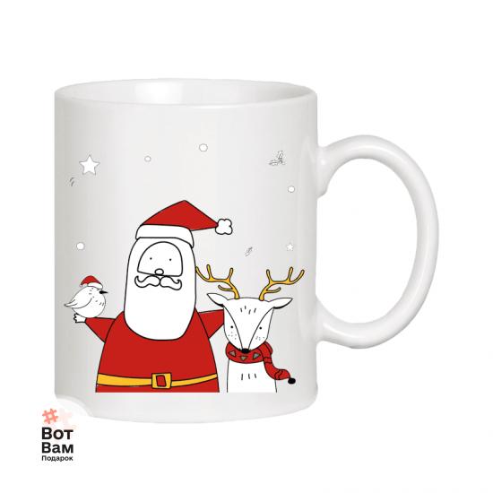 Чашка - подарок на Новый год купить в Харькове