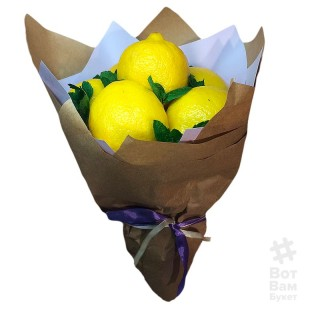 Лимонный букет купить в Харькове