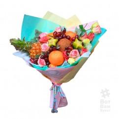 Букет с тропическими фруктами