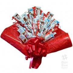 Киндер конфетный букет