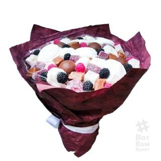 Конфетный букет мармелад с зефиром купить в Харькове