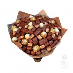 Букет с шоколадной начинкой