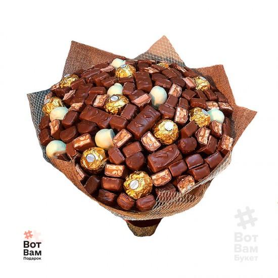 Букет с шоколадной начинкой купить в Харькове