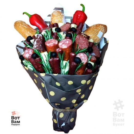 Колбасный букет купить в Харькове