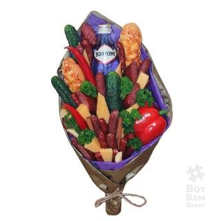 Овощной букет с Боржоми купить в Харькове