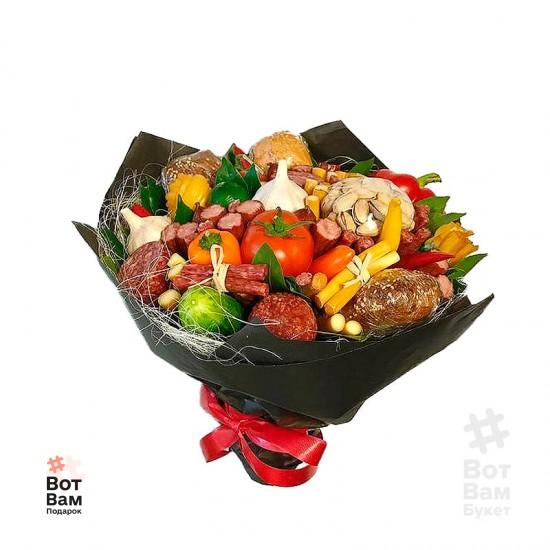 Букет с фисташками и овощами купить в Харькове