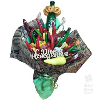 Пивной букет с овощами купить в Харькове